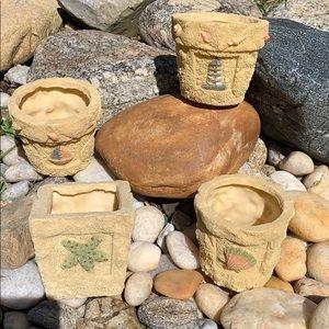 Other - NWOT! Beach Planter Pots